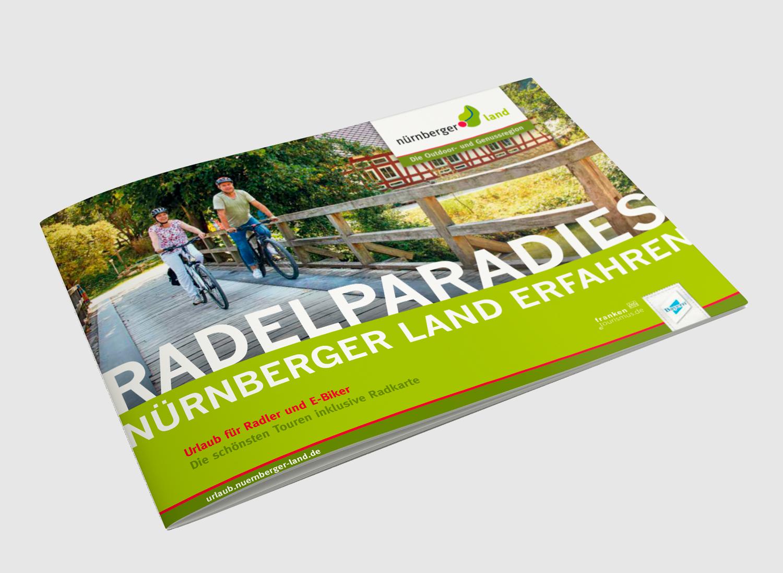 Radelparadies Nürnberger Land inkl. Übersichtskarte
